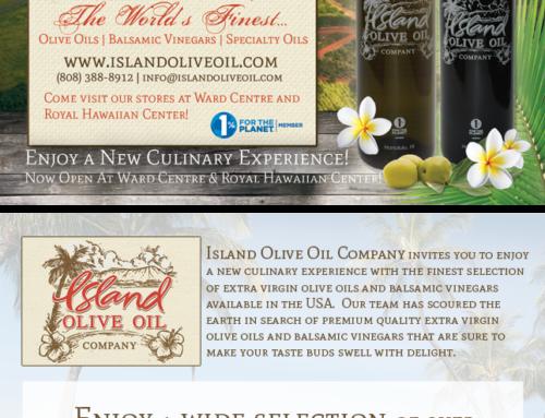 Island Olive Oil Postcard